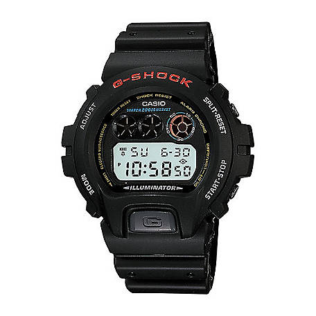 G SHOCK Digital-200M Wr-Smooth, DW6900-1V