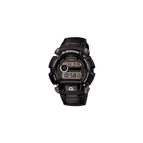 G SHOCK Digital Black Nylon Band DW9052V-1