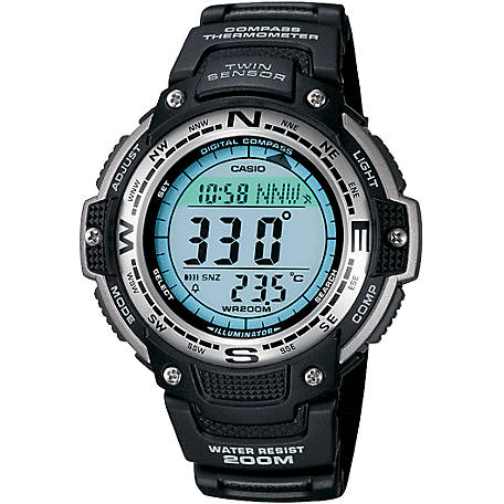 CASIO Low Temp Resistant 200M Compass SGW100-1V