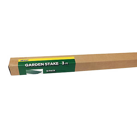 allFENZ 4 ft. Polyethylene Coated Garden Stakes, 10-Pack, GSK-04
