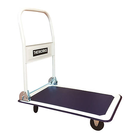 THEWORKS 330 lb. Capacity Folding Platform Cart, FPC330