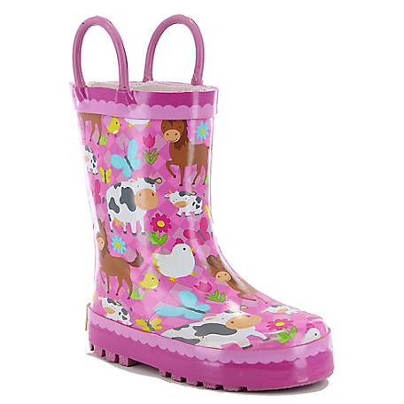 Western Chief Kid's Pasture Pals Rain Boot, 2410176B
