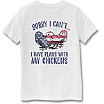 Farm Fed Clothing Boys' Youth Short Sleeve Tee Sorry I Cant TSC0979