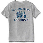 Farm Fed Clothing Boys' Youth Short Sleeve Tee Am Farmboy TSC0983