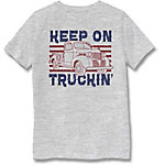 Farm Fed Clothing Boys' Youth Short Sleeve Tee Keep On Truckin TSC1002