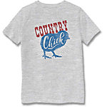 Farm Fed Clothing Boys' Youth Short Sleeve Tee Country Chick TSC1007