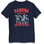 Farm Fed Clothing Boys' Youth Short Sleeve Tee Heifers TSC1010