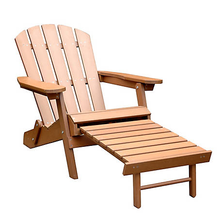 northbeam Faux Wood Adirondack Chair, ADC0111100910