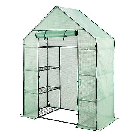 Barn Star Dual Sided Walk In Greenhouse, HDZ30501