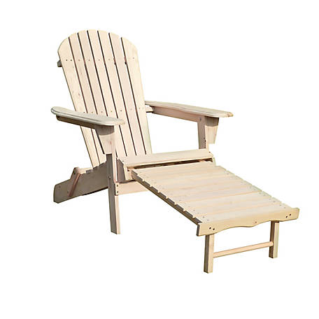 northbeam Adirondack Chair Kit With Pullout Ottman, ADC0302200000