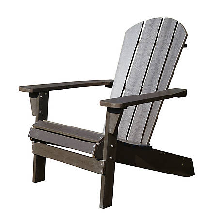 northbeam Faux Wood Relaxed Adirondack Chair, ADC0461120110