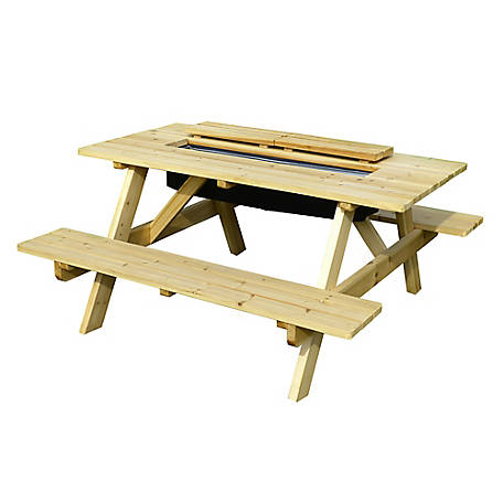 northbeam Cooler Picnic Table Kit, TBC010001910