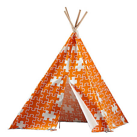turtleplay Children's Teepee Orange Puzzle, TPE0100213210