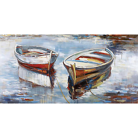 Crestview Collection At Rest Hand Painted Canvas 60 x 30 in. CVTOP2266