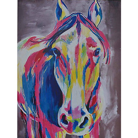 Crestview Collection Flash Hand Painted Canvas 30 x 40 in. CVTOP1572