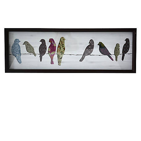 Crestview Collection String Along Shadow Box with Glass CVTWA1452