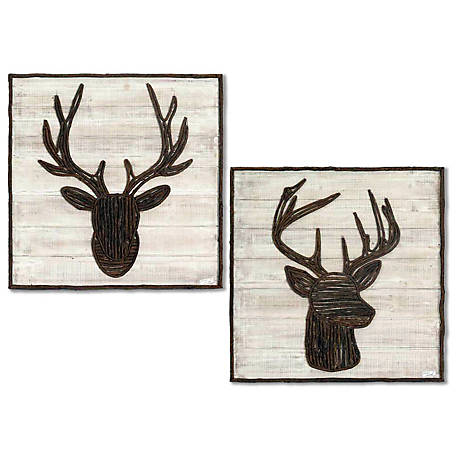 Crestview Collection Trophy Wooden Decor 24 x 1.5 x 24 in. CVTWA1461