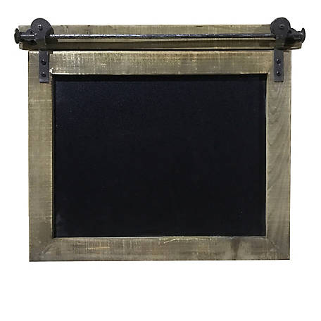 Crestview Collection Wooden Blackboard Wall Decor CVTWA1480