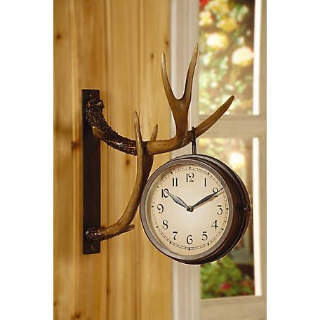 Crestview Collection Deer Park Clock 16 in. Ht., CVCKA262