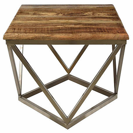 Crestview Collection Bengal Manor Mango Wood Coffee Table, CVFNR460