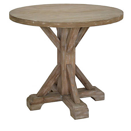Crestview Collection Sonoma Rustic Wood Large Accent Table, CVFZR4527