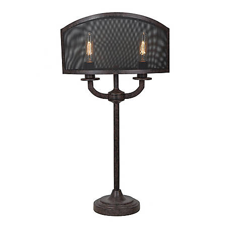 Crestview Collection Brooks Table Lamp 29.5 in. Ht., CVAER949
