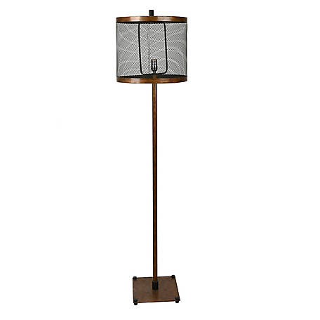 Crestview Collection Webster Floor Lamp 62 in. Ht., CVAER1081