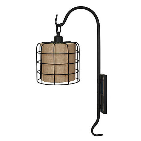 Crestview Collection Shepard Hook Wall Sconce 27 in., CVW1P398