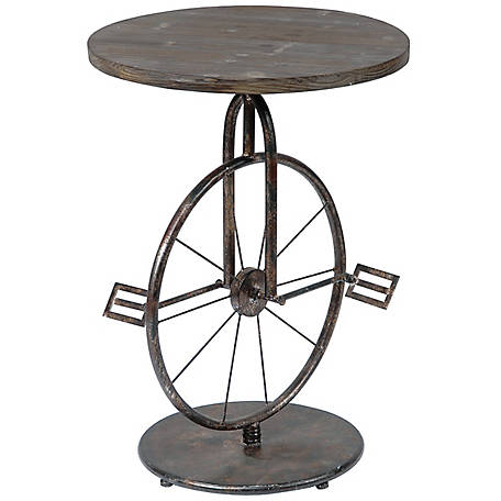 Crestview Collection Sierra Bicycle Accent Table CVFZR1250