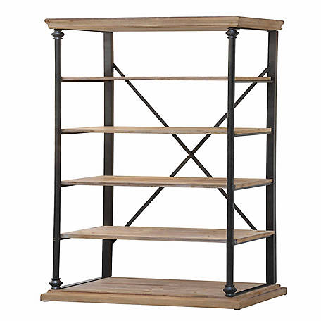 Crestview Collection La Salle Metal And Wood Etagere, CVFZR1910