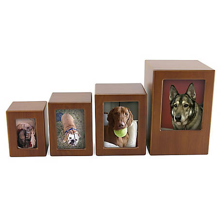 A Pet's Life Photo Frame Pet Urn Honeynut, APL0201P