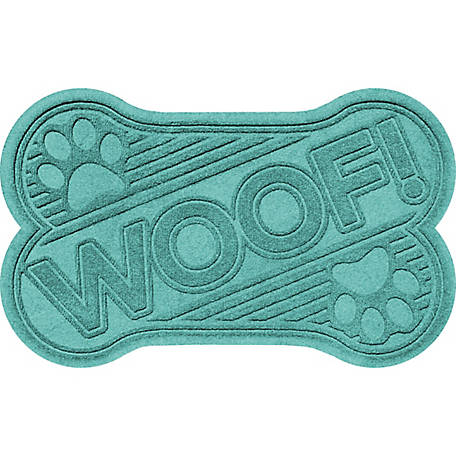 AquaShield Woof Dog Bone Pet Mat, 20597500023