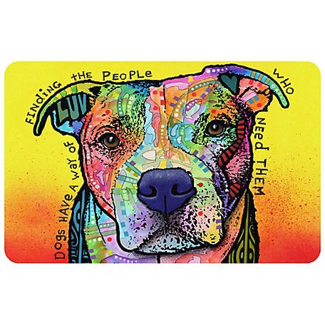 bungalow Flooring Finding The People Dog 23 x 36 Mat, 20718192336