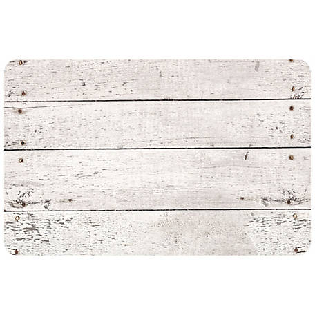 bungalow Flooring Whitewash 46 x 66in. Mat, 2001084666