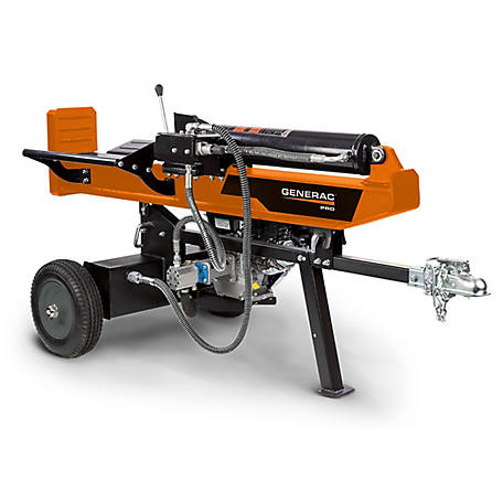 Generac PRO 34 Ton Horizontal-Vertical Log Splitter, WH25034GMNG