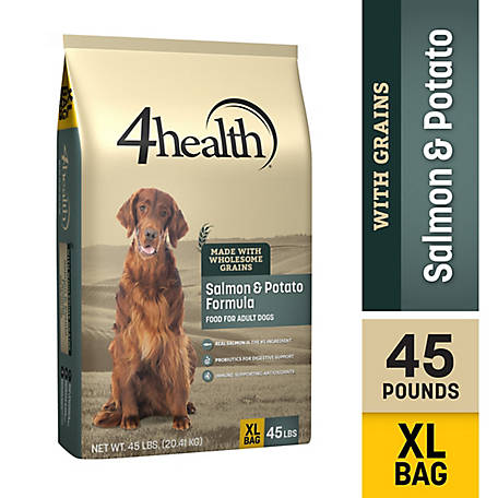 4health Original Salmon & Potato Formula Adult Dog Food, 45 lb. Bag