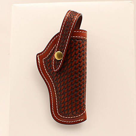 3D Belt Antique Basket Weave Revolve Holster, DHOL101