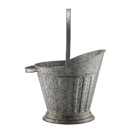 Red Shed Large Metal Ash Bucket Planter