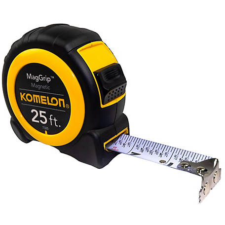 Komelon 25 ft. Neo Maggrip Tape Measure, 7325