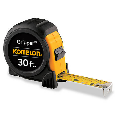 Komelon 30 ft. Gripper Tape Measure 5430, 5430