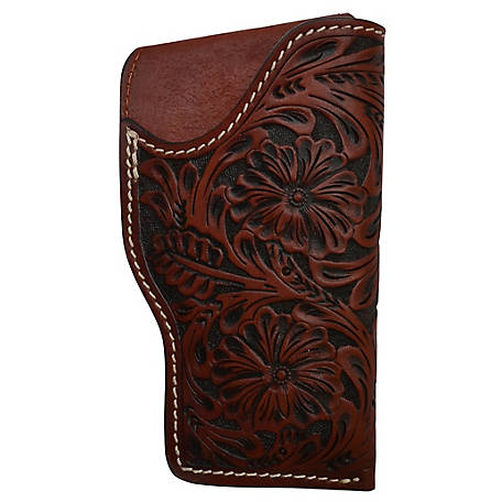 3D Belt Antique Floral Glock Holster Tan, DHOL131