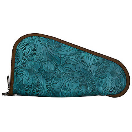 3D Belt Floral Embossed Gun Case, DPI327