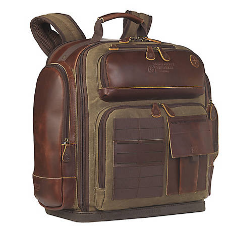 3D Belt Canvas Delux Backpack, DOT237