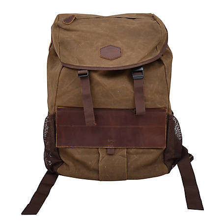 3D Belt Canvas Backpack Tan DTC24024