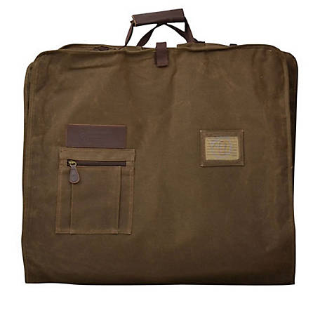 3D Belt Canvas Garment Bag Tan DOT23750