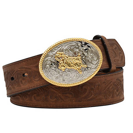 3D Belt Boys Scroll Embossed, D4622