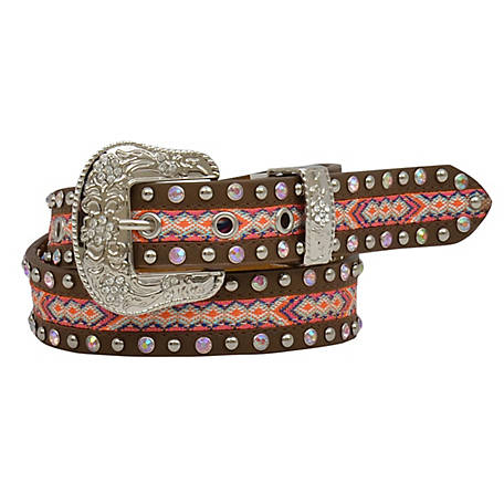 3D Belt Girls Studded Aztec Design, DA5222