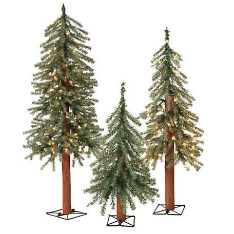 3 Pre Lit Christmas Tree.Sterling Tree Company Pre Lit Alpine Christmas Tree 2 Ft 3