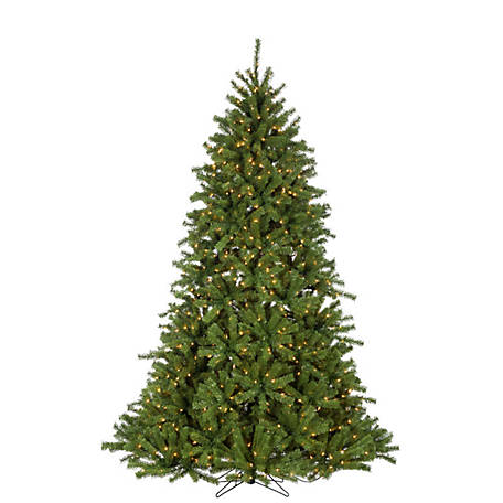 Sterling Tree Company 7.5 ft. Crystal Pine Christmas Tree with Glow Power Pole, 5774--75C