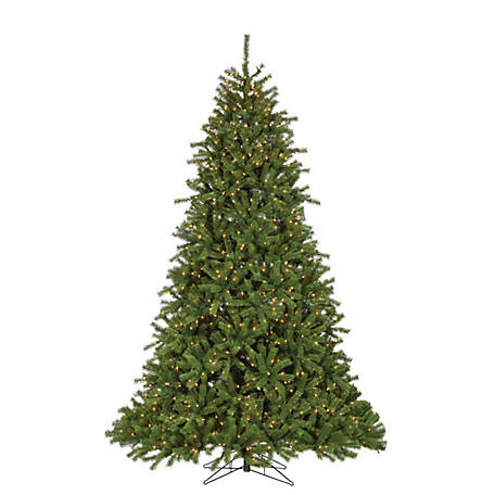 Sterling Tree Company 9 ft. Crystal Pine Christmas Tree with Glow Power Pole, 5774--90C